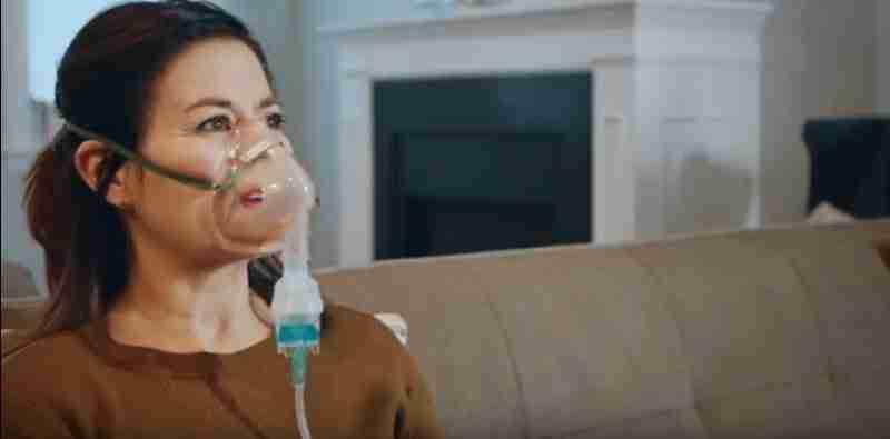 Limpiar correctamente el nebulizador con máscara